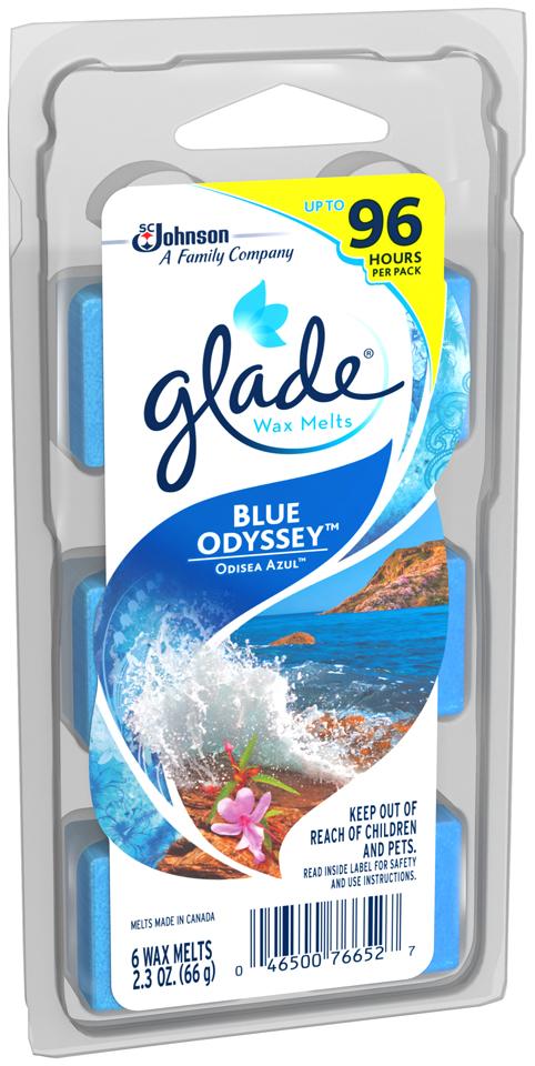Glade® Wax Melts Blue Odyssey™ Air Freshener Refills  2.3 oz.