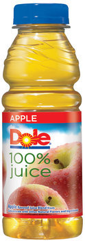 Dole® 100% Apple Juice 15.2 fl. oz. Plastic Bottle