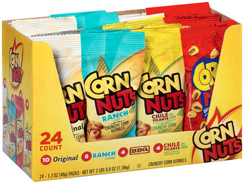 Corn Nuts Crunchy Corn Snack Variety Pack 24-1.7 oz. Packs