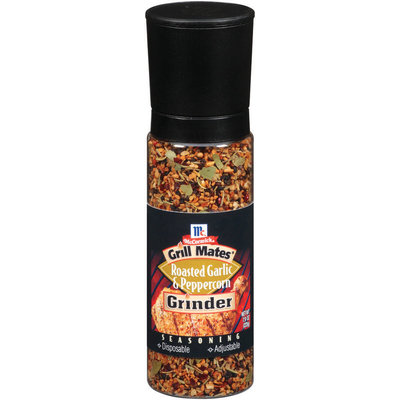 McCormick Grill Mates Roasted Garlic & Peppercorn Grinder Seasoning 7.9 Oz Shaker