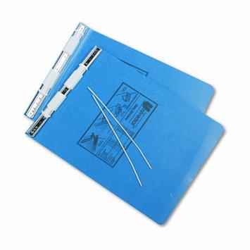 Universal Battery Universal Pressboard Hanging Data Binder, 9-1/2 x 11, Unburst Sheets, Blue