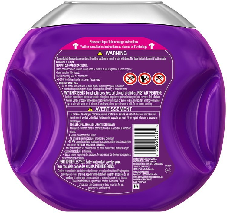 Gain flings! Scent Duets Laundry Detergent Pacs, Wildflower and Waterfall, 54 count