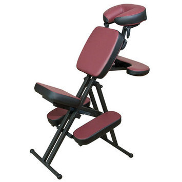 Oakworks Portal Light Massage Chair Color: Ruby