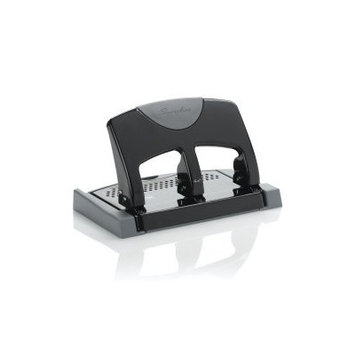 Swingline Smarttouch 3-hole Punch - 3 Punch Head[s] - 45 Sheet Capacity - 9/32 - Black (swi-74136)