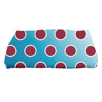E By Design Jump for Joy Holiday Bubbly Bath Towel Color: Teal