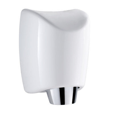 Whitehaus Collection Hands-Free Wall Mount 110 Volt Hand Dryer in White