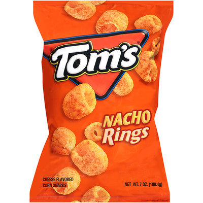 Tom's® Nacho Rings 7 oz. Bag