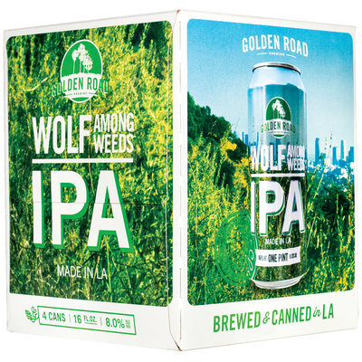 Wolf Among Weeds IPA 4–16 fl. oz. Cans