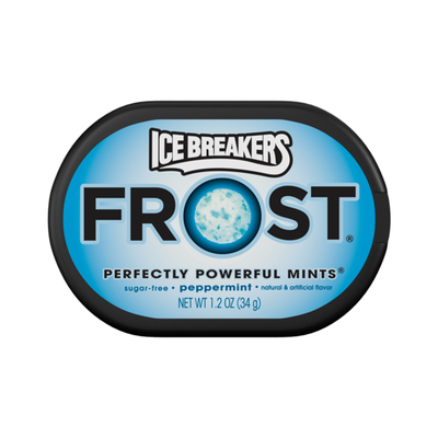 ICE BREAKERS FROST PEPPERMINT MINTS