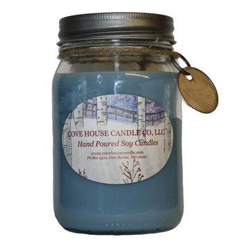 Covehousecandleco Blueberry Cheesecake Jar Candle