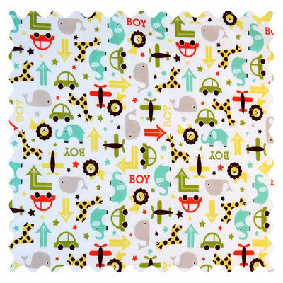 Stwd Cars and Animals Fabric by the Yard