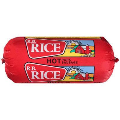 R.B. Rice® Hot Pork Sausage 16 oz. Chub
