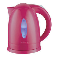 Ovente KP72F Pink 1.7-liter Cord-Free Electric Kettle