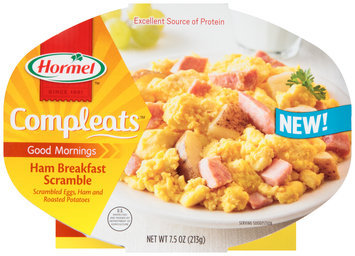 Hormel™ Compleats™ Ham Breakfast Scramble 7.5 oz. Tray
