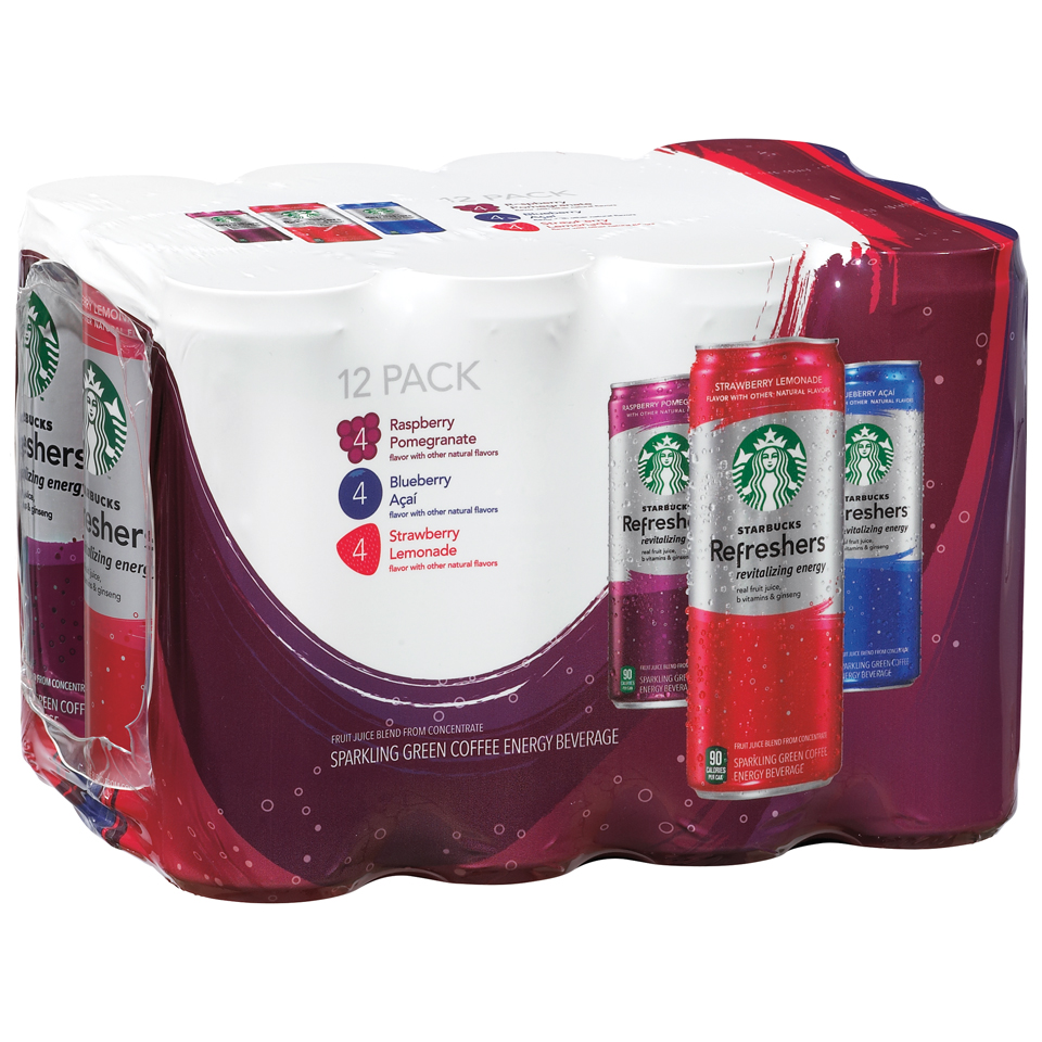 Starbucks® Refreshers™ Energy Drink Variety Pack