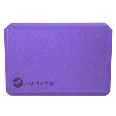Dragonfly Foam Yoga Block - Purple ( 4