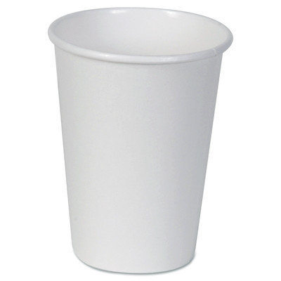 DXE2342W - Dixie Paper Cups; Hot; 12 oz.; White; 50/Bag
