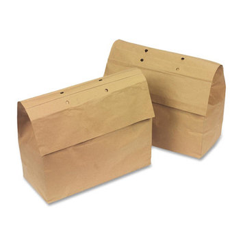 Swingline Recyclable Paper Shredder Bag - 13 gal - 5/Pack - Paper - Kraft