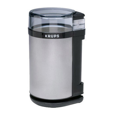 Krups Coffee Grinder and Spice Mill in Brushed Stainless Steel