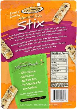 Mrs. May's Naturals® Almond Rice Stix Mango Strawberry 4 oz Peg