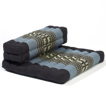 My Zen Home Dhyana Meditation Cushion Color: Blue / Black