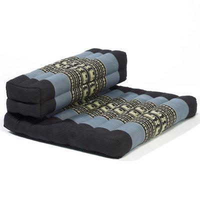 My Zen Home Dhyana Meditation Cushion Color: Blue / Black