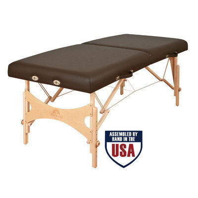 Oakworks Nova Massage Table Color: Blue grass, Width: 31