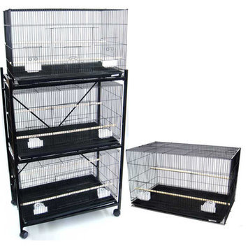 YML Four Medium Bird Breeding Cages
