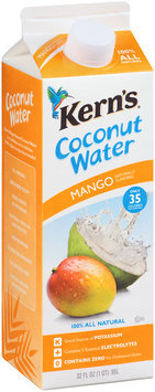 Kern's® Mango Coconut Water 32 fl. oz. Carton