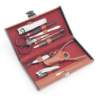 Worthy 10 Piece Deluxe Manicure Set - Brown