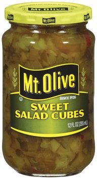 Mt. Olive Sweet Salad Cubes 12 Fl Oz Jar