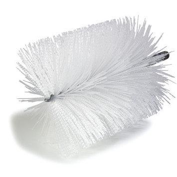 Carlisle 4127100 - 6-in Powder Bag Brush, 8-in Diam. & Nylon Bristles