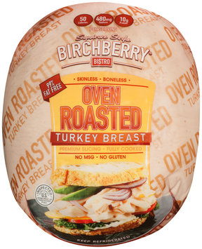 Birchberry Bistro® Signature Style Oven Roasted Turkey Breast Package