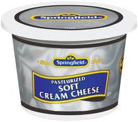 Springfield Soft Cream Cheese 12 Oz Plastic Tub
