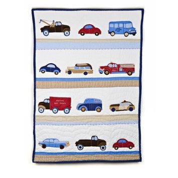 Whistle & Wink Cars & Trucks Nursery Quilt