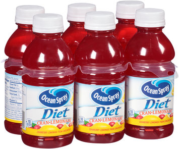 Ocean Spray® Diet Cran-Lemonade™ Juice 6-10 fl. oz. Bottles