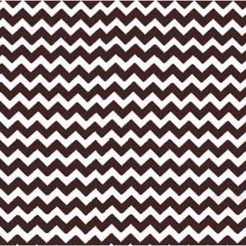 Sheetworld Chevron Zigzag Portable Mini Fitted Crib Sheet Color: Brown