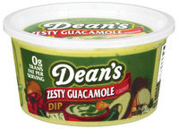 Dean's Guacamole Zesty  Dip 12 Oz Tub