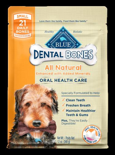 THE BLUE BUFFALO CO. BLUE™ Dental Bones™ Small Size