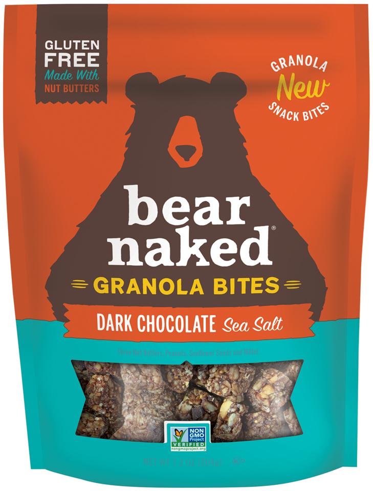 Bear Naked® Dark Chocolate Sea Salt Granola Bites 7.2 oz. Box