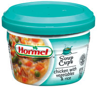 HORMEL Chicken W/Vegetables & Rice Soup MW Cup 7.5 OZ MICROCUP
