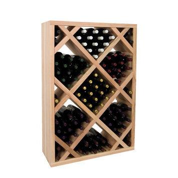 Wine Cellar Vintner Series 151 Bottle Wine Rack Finish: Dark Walnut