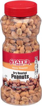 Stater Bros.® Honey Roasted Dry Roasted Peanuts 16 oz. Jar
