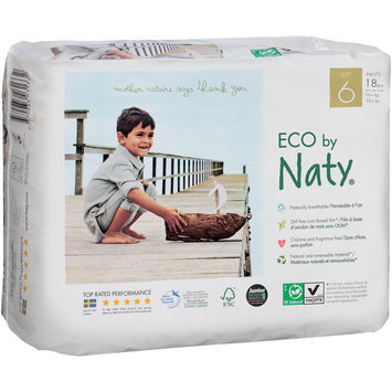 Eco by Naty® 6 Diapers 18 ct Pack