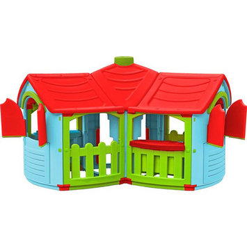 Tot's Play Play Structures. Grand Villa Playhouse
