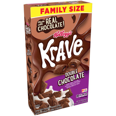 Kellogg's® Krave™ Double Chocolate Cereal