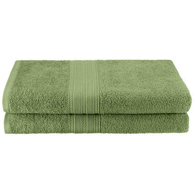 Simple Luxury Superior Bath Towel (Set of 4), Terrace Green