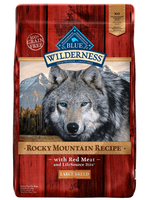 THE BLUE BUFFALO CO. BLUE™ Wilderness® Rocky Mountain Recipe™ Red Meat For Large Breed Adult Dogs