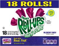 Betty Crocker® Fruit Roll-Ups® Mini Rolls® Wildberry Punch® Fruit Flavored Snacks