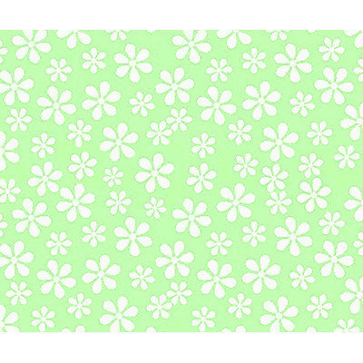 Stwd 3 Piece Pastel Floral Woven Crib Sheet Bedding Set Color: Green